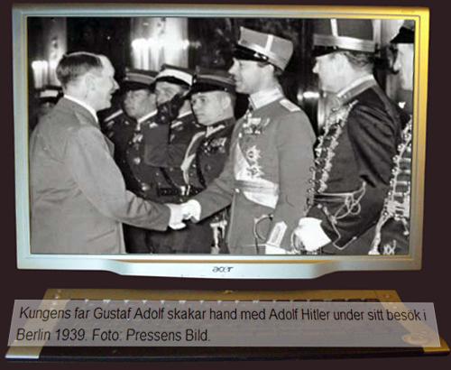 Gustav Adolf och Adolf Hitler