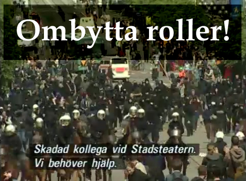 Kravallerna i goteborg polisen anmals for brutalitet