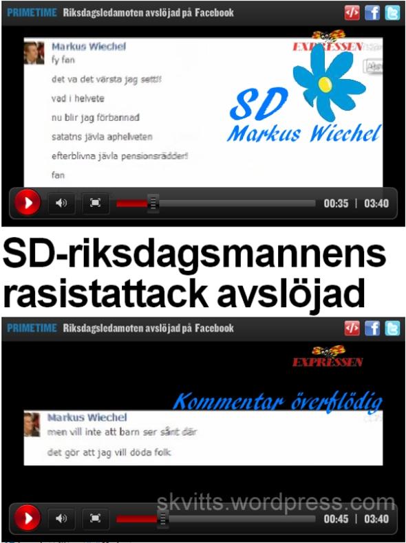 SD Markus Wiechel vill döda